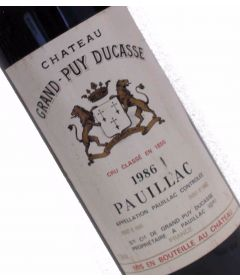 Chateau Grand Puy Ducasse 1986 - Pauillac