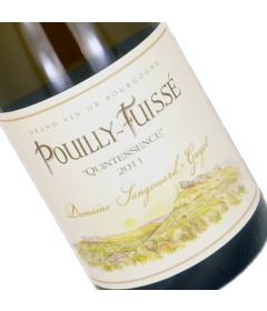 "Pouilly-Fuisse 2010 ""QUINTESSENCE"" - Sangouard-Gyot"