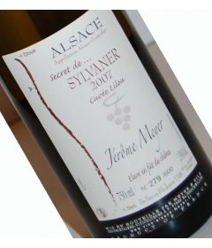"Secret de Sylvaner ""CUVEE LILOU"" (Vendanges tardives) 2007 - Jerome Meyer"